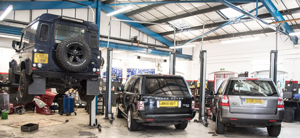 range rover & land rover repairs - kinghams lr croydon