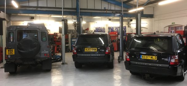 land rover & range rover in kinghams lr croydon