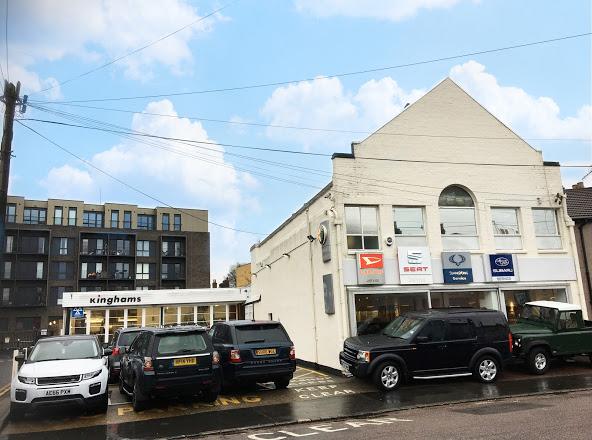 kinghams land rover garage in croydon